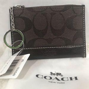 Coach ID Keychain